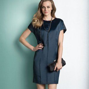 Etcetera Dress Satin look in Front Size 6